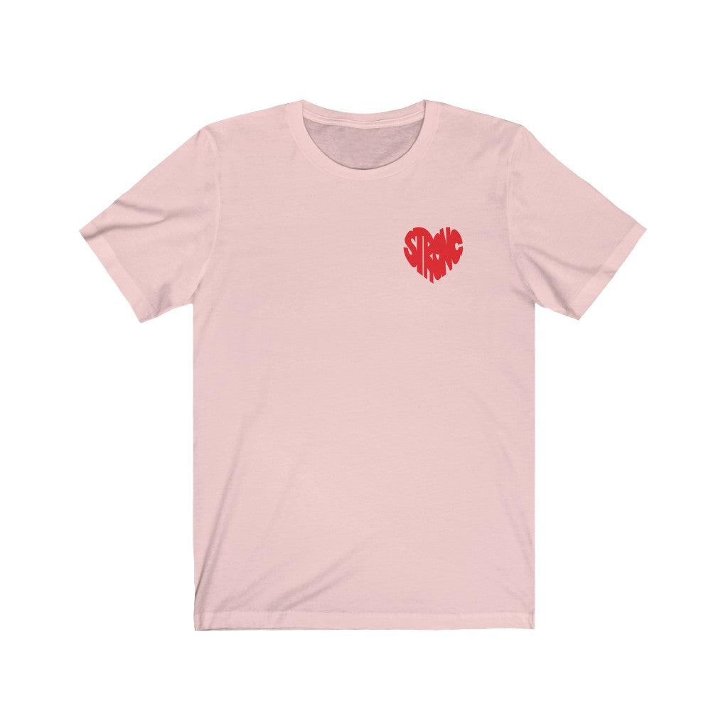 Mini Strong Heart T-Shirt (Red)