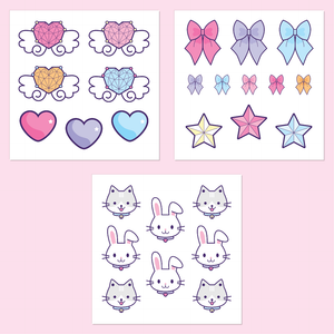 Magical Girls Sticker Sets