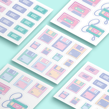 Load image into Gallery viewer, Retro Vibes Sticker Sets