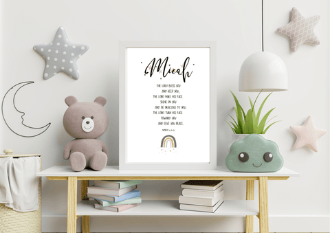 The Blessing for Kids | Decor Print - Auxano Life