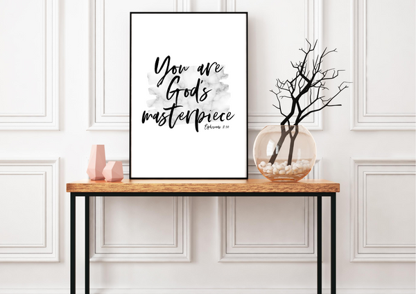 You are God's Masterpiece | Decor Print - Auxano Life