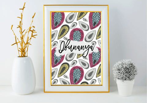 Love / Ifunanya | African Decor Print, Wall Art - Auxano Life