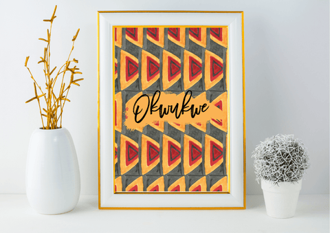 "Okwukwe (""Faith"") - African Decor Print - Auxano Life"