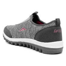 Load image into Gallery viewer, Grey Pink Running Shoes For Women - vezzmart