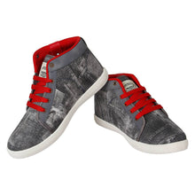 Load image into Gallery viewer, Stylish Canvas Grey Casual Shoes For Men - vezzmart