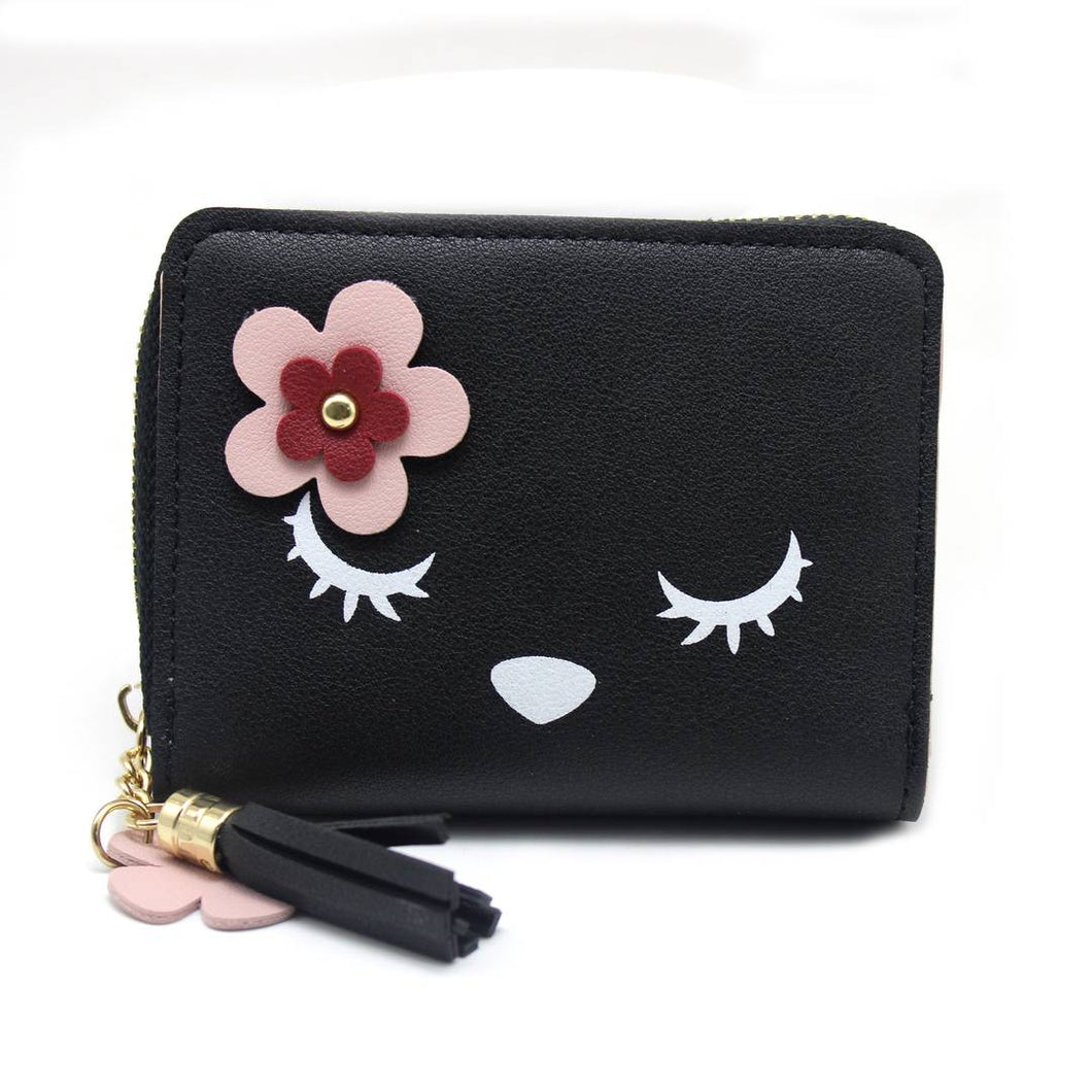 Women's Stylish PU Leather Wallet - vezzmart