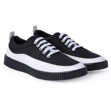 Load image into Gallery viewer, Comfy Black Canvas Casual Shoes - vezzmart