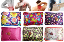 Load image into Gallery viewer, Electric Heat Bag Hot Gel Bottle Pouch Massager (Assorted) - 2 Piece - vezzmart