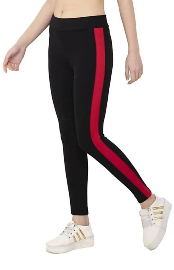 Elegant Cotton Lycra Women's Jegging - vezzmart