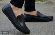 Load image into Gallery viewer, Stylish & Elegant Men's Black Casual Loafers - vezzmart