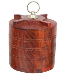 Wooden Tank Shaped Piggy Bank - vezzmart