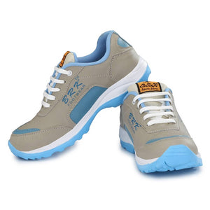Men's Blue Synthetic Sports Running Shoes - vezzmart