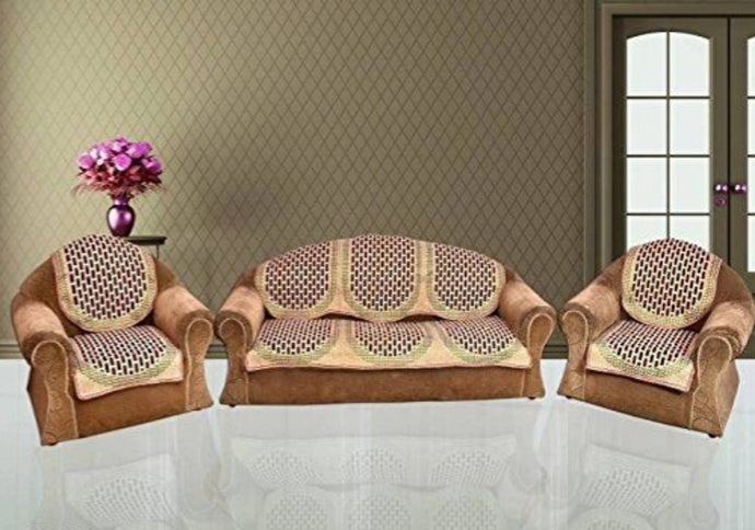 classic printed 5 seater sofa covers - vezzmart