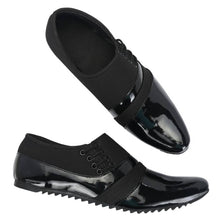 Load image into Gallery viewer, Elegant & Stylish Black Patent Casual Shoes For Men - vezzmart