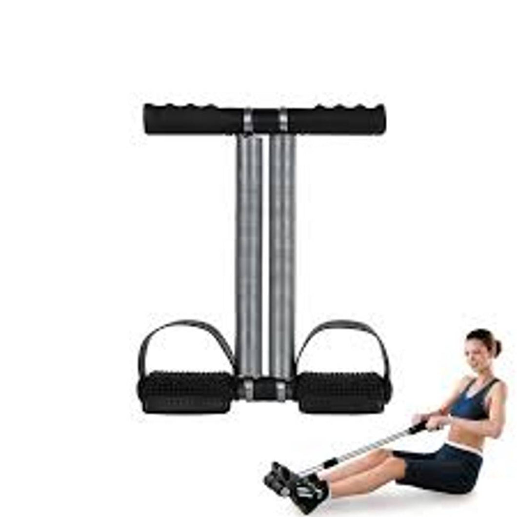Healthcare Double Spring Tummy Trimmer-ABS Exerciser-Waist Trimmer-Fat Buster-Total Body Workout for Men & Women - vezzmart