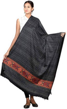 Load image into Gallery viewer, Royal winter women's Kashmiri Shawl, Jacquard palla, Warm and soft, Faux Pashmina Design - vezzmart