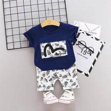 Load image into Gallery viewer, Amazing White Polycotton Printed Kid's Clothing Set - vezzmart