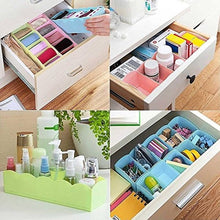 Load image into Gallery viewer, Plastic Undergarments Innerwear Cosmetic Makeup Drawer Organiser  (Pack of 6) - vezzmart