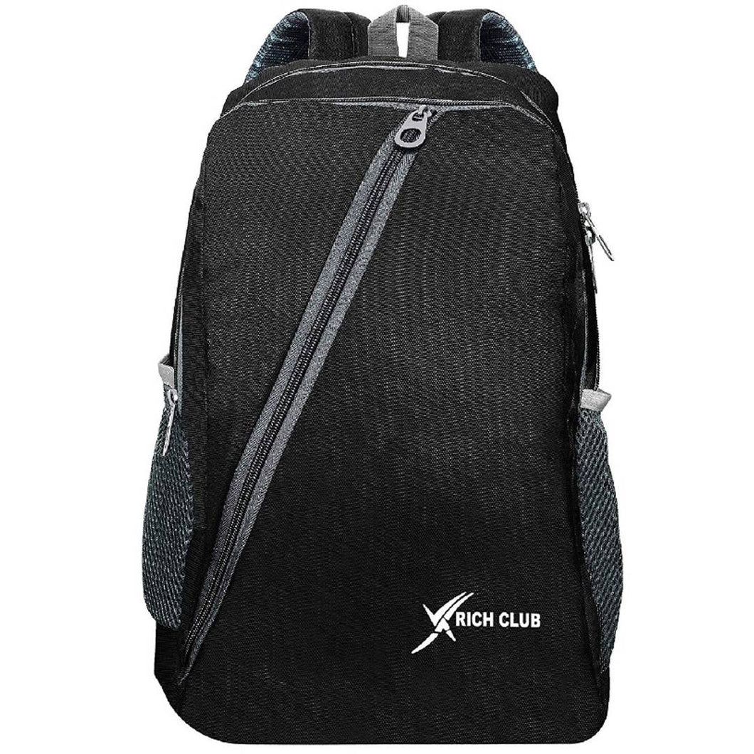 Polyester Backpack with Laptop Compartment Black 41 LTR - vezzmart
