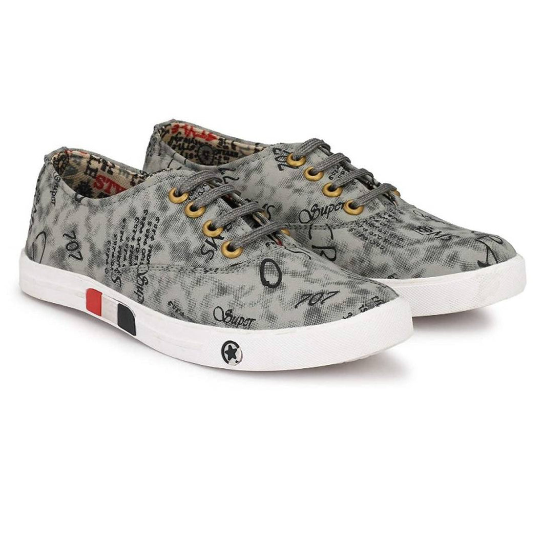 Women's Synthetic Printed Sneakers - vezzmart