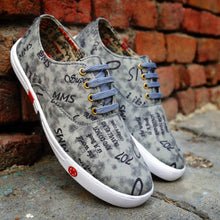 Load image into Gallery viewer, Women's Synthetic Printed Sneakers - vezzmart