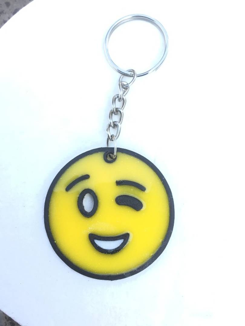Smiley Keychain - vezzmart