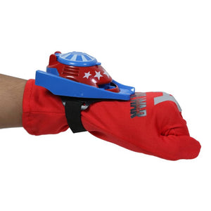 Toys 4 U Super Hero Gloves with Disc Launcher for Kids (Assorted , Medium) - vezzmart
