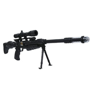 Toys 4 U  Musical Army Style Toy Gun for Kids with Music, Lights and Laser Light (Multi-Color) - vezzmart