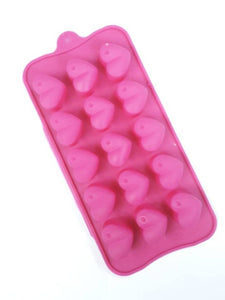 Silicone Chocolate/ Candy And Jelly And Ice Mould - vezzmart