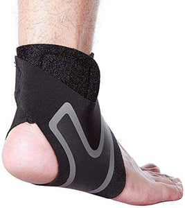 Breathable Neoprene Ankle Support Brace for Pain Relief Recovery, Sports, Injuries and Arthritis - vezzmart