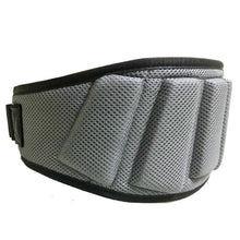 Load image into Gallery viewer, Hipkoo Sports Extreme Grid Design Gym Belt (6 Inch Wide, 10mm Thickness) Waist Support (Small) Adjustable 28 To 34 Waist - vezzmart