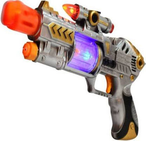 Infrared Beam New Style Laser Sound Gun Guns & Darts  (Multicolor) - vezzmart