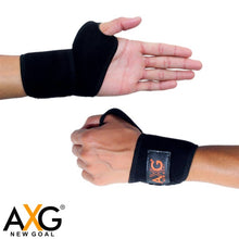 Load image into Gallery viewer, AXG NEW GOAL Sport Soul Power Lifting Straps (1 pc) Wrist Support  (Multicolor) - vezzmart