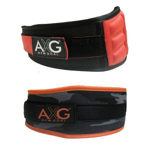 AXG NEW GOAL Men And Women Gym Belts Combo Waist Support  (Large 32 To 40) - vezzmart