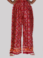 Load image into Gallery viewer, Women's Beautiful Maroon Printed Cotton Palazzo - vezzmart