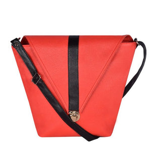 Women Artificial Leather Sling Bag For Girl - vezzmart