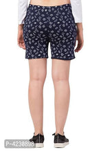 Load image into Gallery viewer, Trendy Cotton Blend Printed Shorts For Women - vezzmart