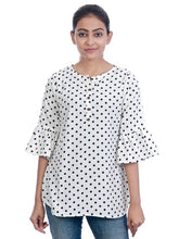 Load image into Gallery viewer, Women's Beautiful American Crepe Tunic Top - vezzmart
