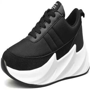 MarcoUno Black Stylish Shoes - vezzmart