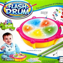 Load image into Gallery viewer, Jojoss spot Flash Drum atrractive music toy  (Multicolor) - vezzmart