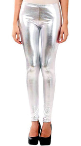 Shimmer Leggings For Women's - vezzmart