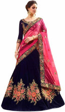 Load image into Gallery viewer, Ramkrupa Creation Woman's New fashion Silk embroideredry lehenga choli. - vezzmart