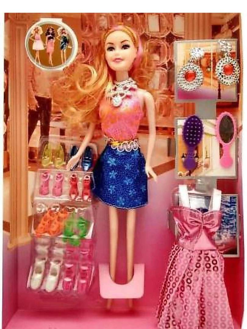 Kids Toy Doll with Accessories For Girls - vezzmart