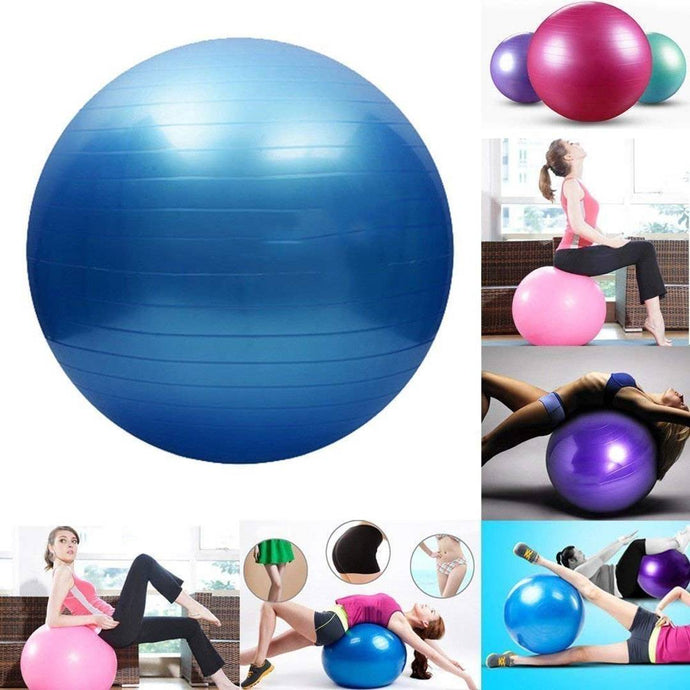 Gym Ball Anti Burst 55Cm - vezzmart