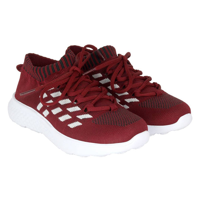 Maroon Computer Latest Women Sports and Casual shoes - vezzmart