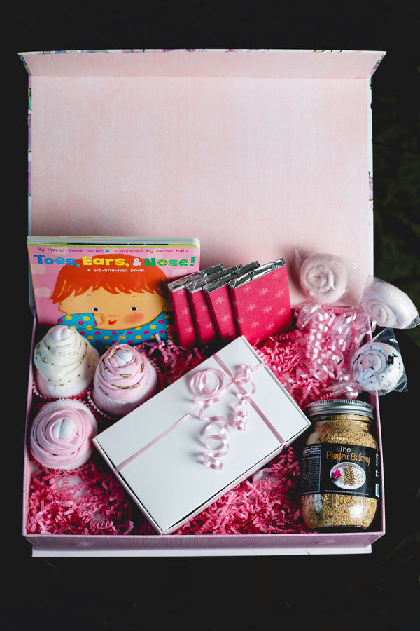 Mama and Baby Box (Girl) - Panjeribakery
