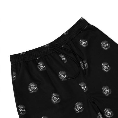 LUTI ROSE SHORTS - BLACK