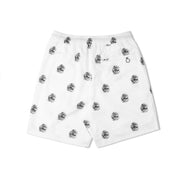 LUTI ROSE SHORTS - WHITE