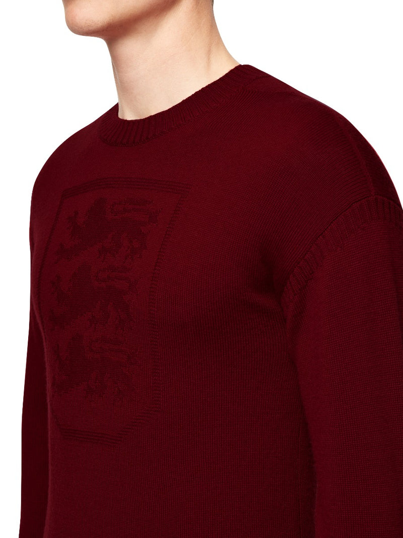 Three Lions Knitted Crewneck