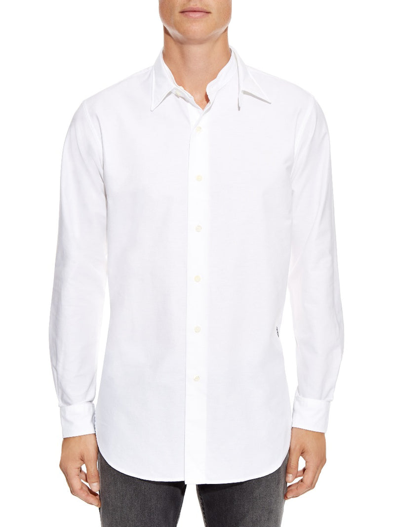 Detachable Collar Dress Shirt
